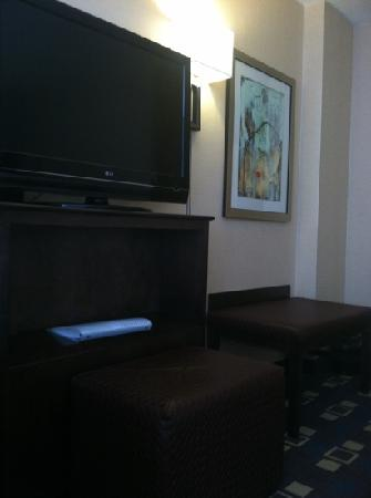 Hampton Inn White Plains / Tarrytown: flatscreen