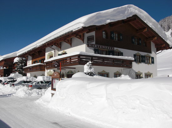 Hotel Hartenfels: ... im Winter