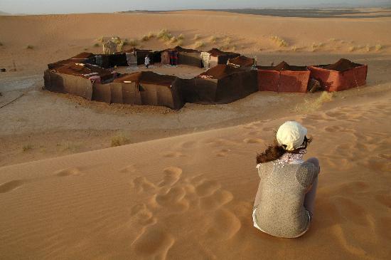 Palais des dunes: bivacco nel deserto