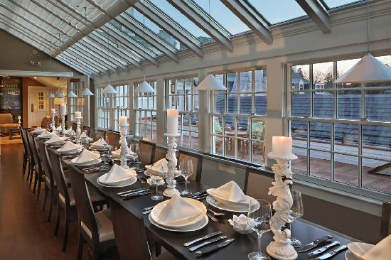 30Boltwood: Private Dining in the greenhouse