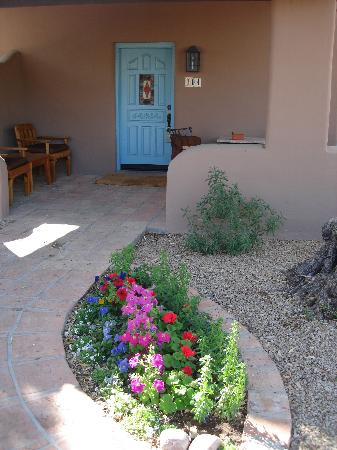 Hermosa Inn: The door to our Grande Casita
