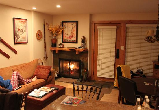 Vail Racquet Club Mountain Resort: Our 1 bedroom condo.