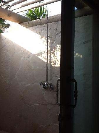 The St. Regis Punta Mita Resort: love the outdoor shower