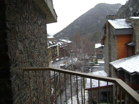 Hotel Sant Gothard: view from the balcony