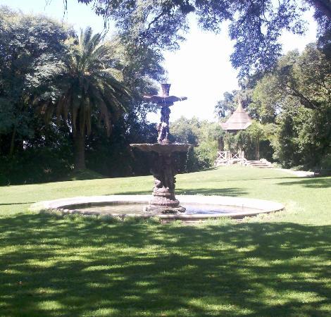 San Isidro, Argentina: la fuente del jardín