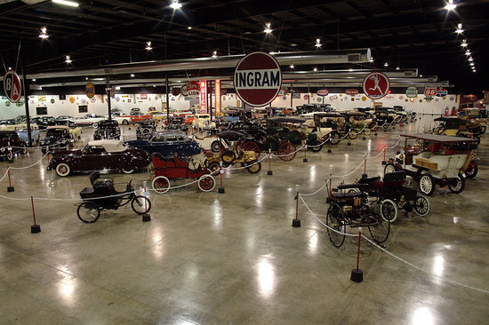 Tupelo, MS: The 120,000 sq. ft. museum features over 100 vehicles and related automobilia.