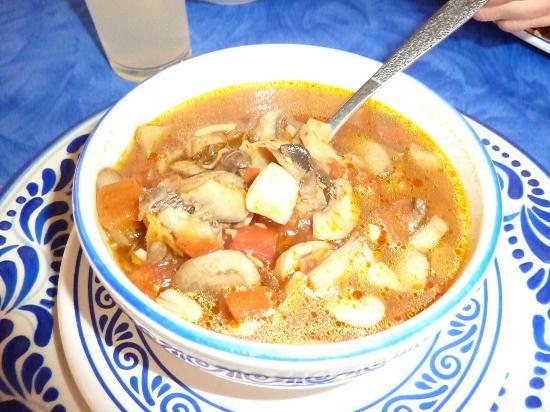 Foto De Fonda De Santa Clara, Puebla: Sopa De Hongos