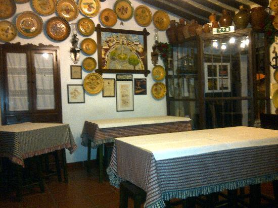 Portalegre, Portugal: Comedor