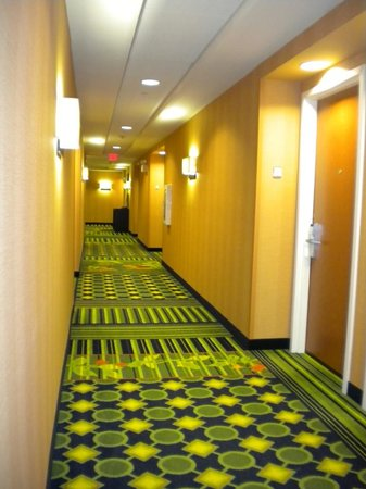 Fairfield Inn & Suites Chattanooga I-24/Lookout Mountain: Interior Hallways