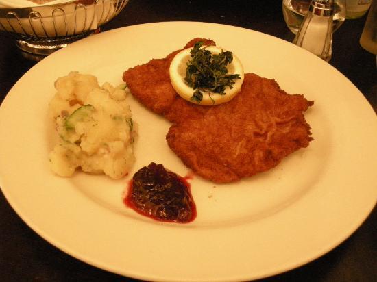Blaue Gans : Wiener Schnitzel