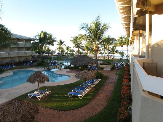Fiesta Resort All inclusive Costa Rica: View from out room in bldg #3