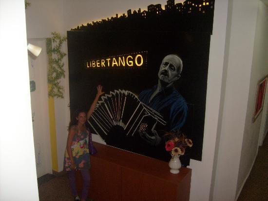 Ayres Portenos Tango Suites: espacio central (piso2)