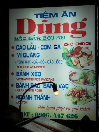 Light Candle: Tien An Dung Restaurant