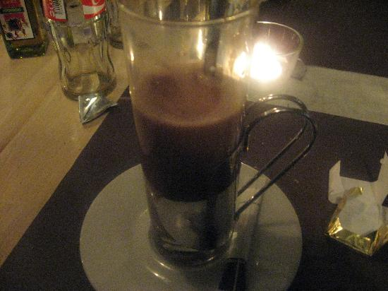 Carlito's Restaurant: Hot chocolate after dinner.
