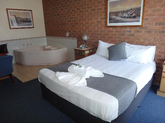 Albury Paddlesteamer: Spa room