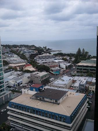 The Spencer on Byron Hotel: View from 16th floor