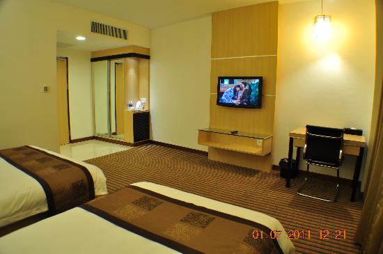 Dorset Boutique Hotel, Kuching: Deluxe Double