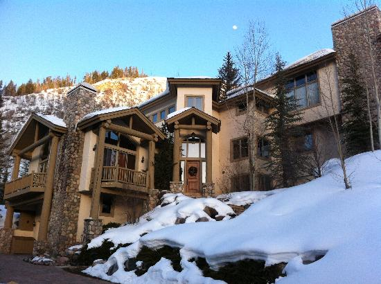 Vail Cascade Condominiums: The front of our residence