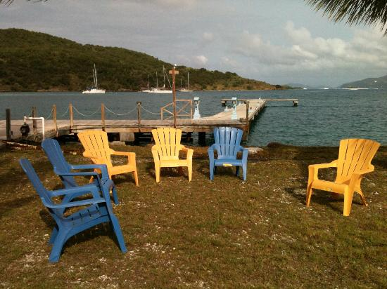 Foxy's Taboo Bar & Restaurant: View from the restaurant