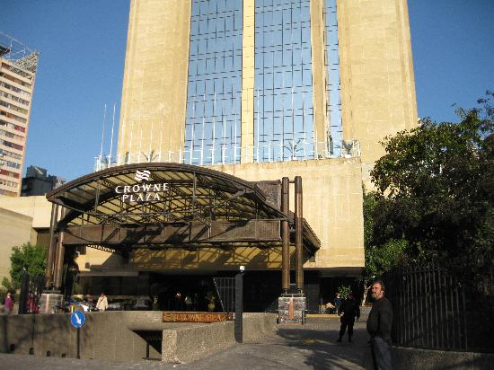 Crowne Plaza Santiago: Great proximity to attractions