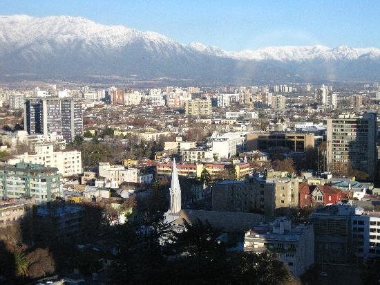Crowne Plaza Santiago: Magic views