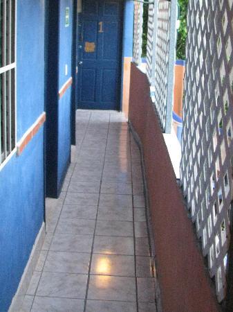 Hotel Colorado: 3rd floor hallway