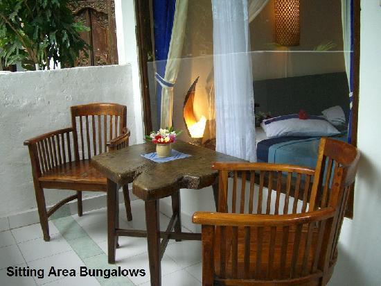 Matahari Tulamben Resort, Dive & SPA: Bungalow outside