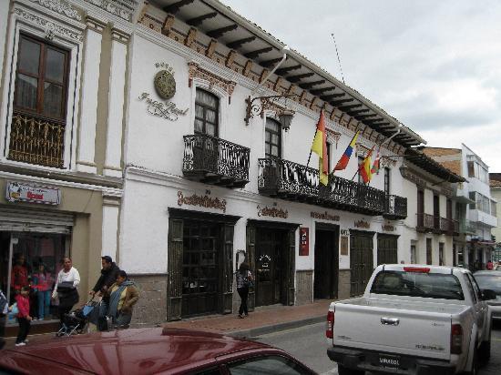 Hotel Inca Real: Interior again