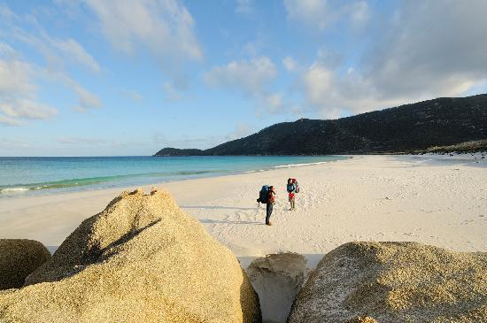 Bennison, Australia: Taking a stroll at Wilsons Prom