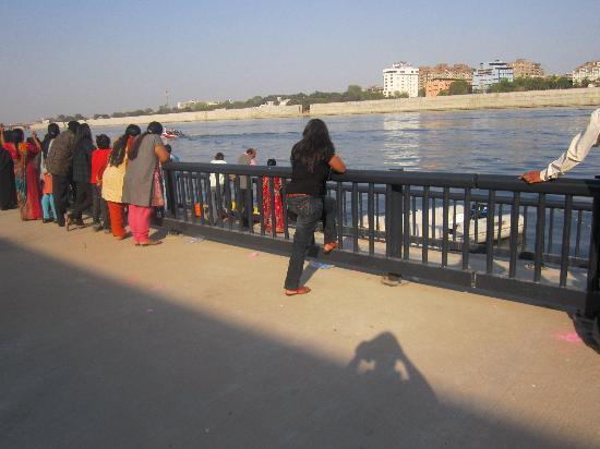 Sabarmati Riverfront : A view of the riverfront