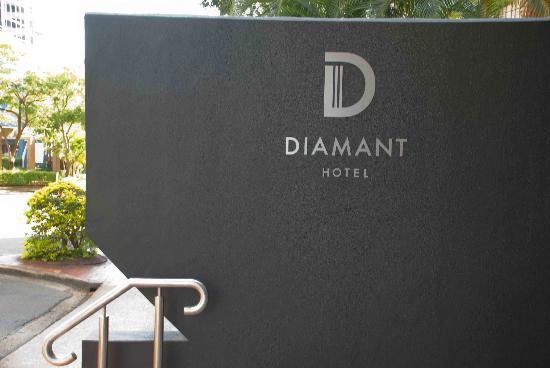 Mantra Terrace Hotel: Diamant Hotel sign