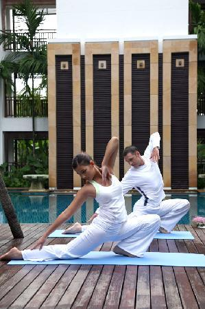 RarinJinda Wellness Spa Resort: Complimentary Yoga Classes