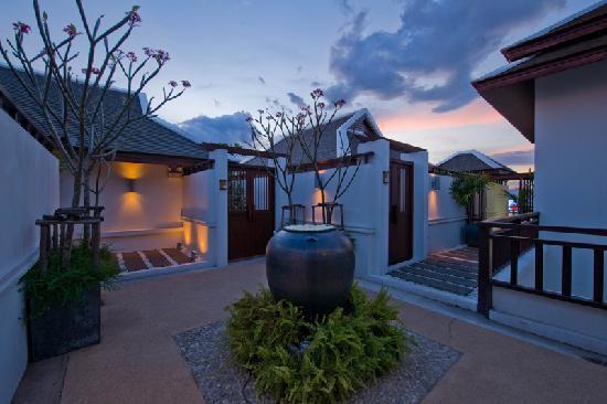 Traumvilla Terrasse Pool Malediven