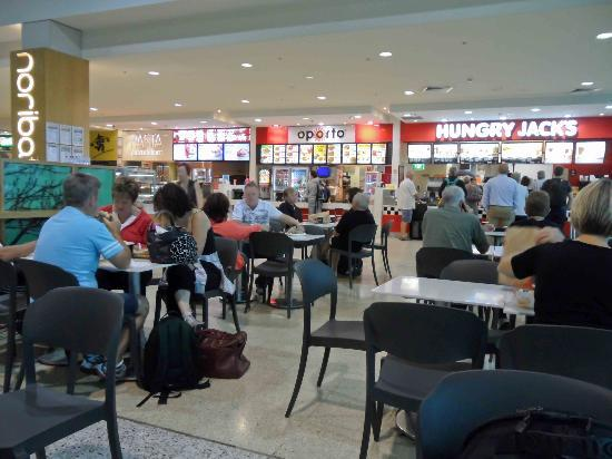 Melbourne Airport T Food Court