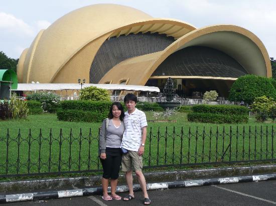 Taman Mini Indonesia Indah: Keong Mas Teater