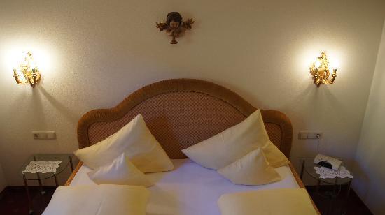 Hotel Hartenfels: Appartement Schlafzimmer