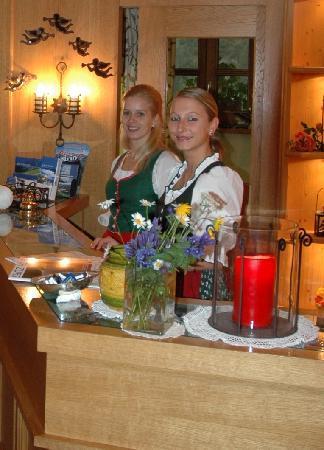 Hotel Hartenfels: Rezeption