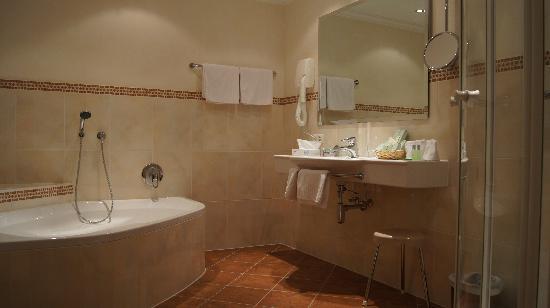 Hotel Hartenfels: Badezimmer