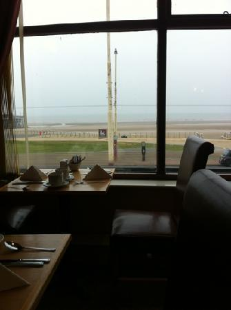 Viking Hotel: view from the restaurant