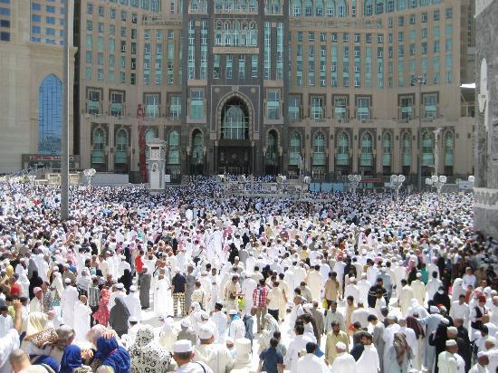 Le Meridien Towers Makkah: MAKKAH JUMA PRAYER