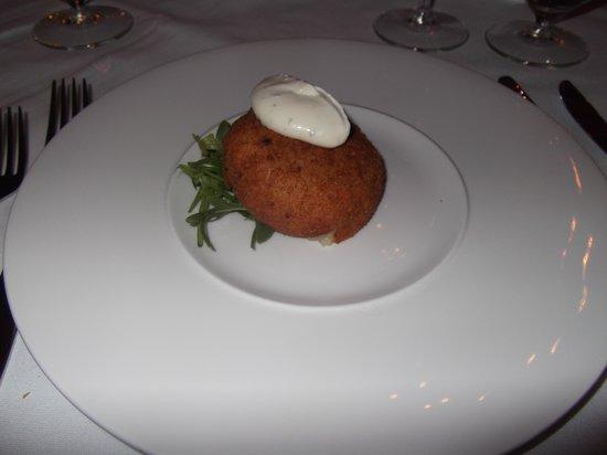 Oscar's Restaurant: fishcake
