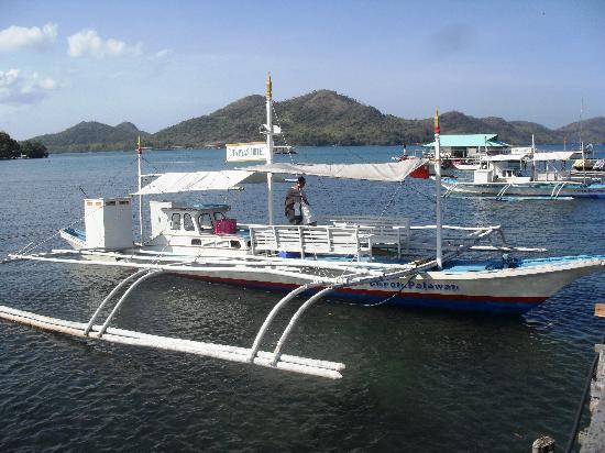 Mt. Tapyas Hotel: mt. tapyas motor boat