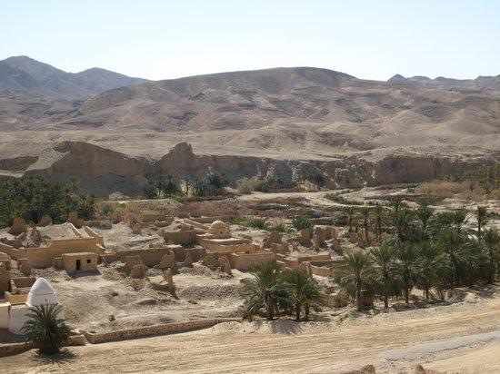 Tamerza, Tunisia: ベルベル人の村 タメルザ 洪水で廃墟になった村です