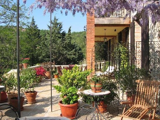 Mas Pallares: Romantic Grande Terrasse