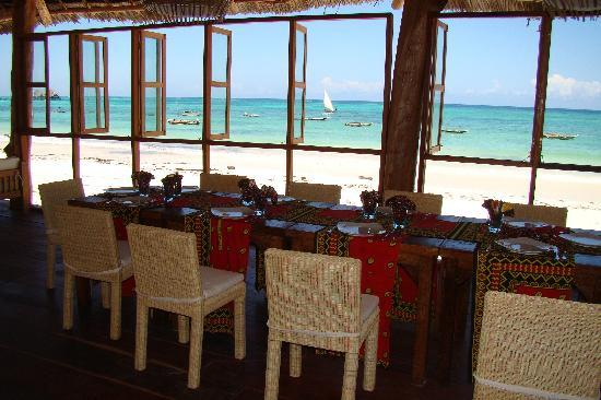 Dongwe Ocean View: Restaurant