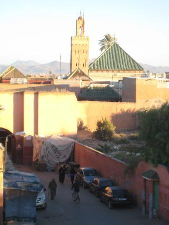 Riad Ida Ou Balou : View from the roof-terrace