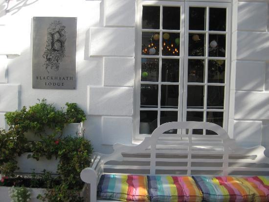 Blackheath Lodge : Entrance