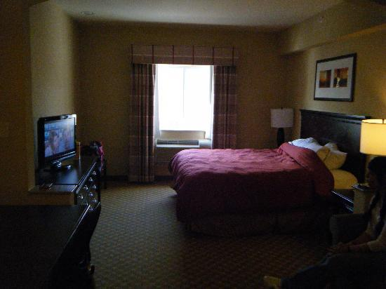 Country Inn & Suites By Carlson, Absecon (Atlantic City) Galloway: Spacious King room with fold out sofa