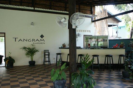 Tangram Garden: The Lounge corner