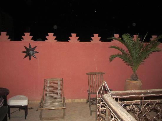 Riad Fabiola: One terrace